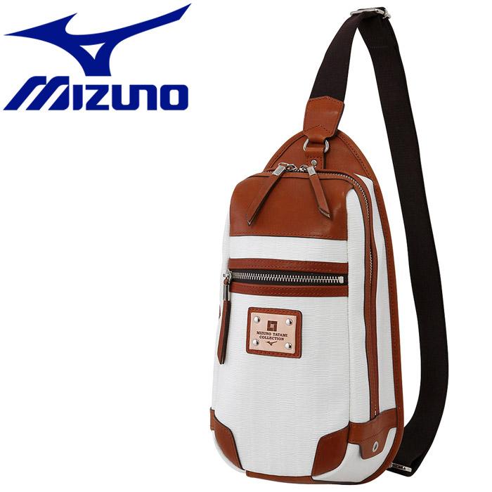 ミズノ TAFTIO ボディバッグ MIZUNO TATAMI COLLECTION B3JT650402