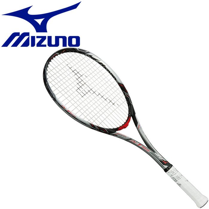 ミズノ DI-T100 ディーアイティー100 ソフトテニス 軟式テニスラケット フレームのみ 63JTN84303