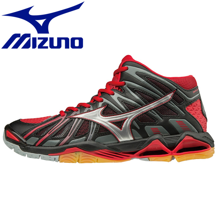 mizuno wave tornado x 2 red utility