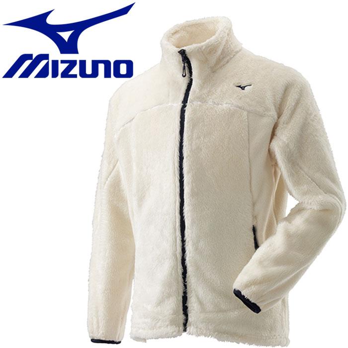 ミズノ ブレスサーモ シャギーフリースジャケット メンズ A2MC852102
