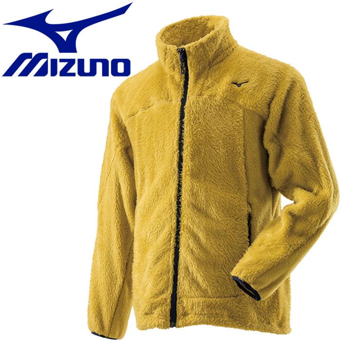 ミズノ ブレスサーモ シャギーフリースジャケット メンズ A2MC852147