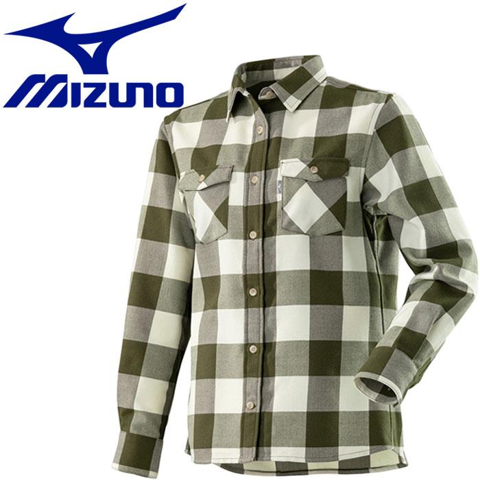 ミズノ ブレスサーモ ウールトレイルシャツ レディース A2MC870343