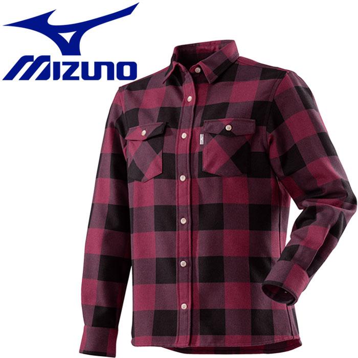 ミズノ ブレスサーモ ウールトレイルシャツ レディース A2MC870366