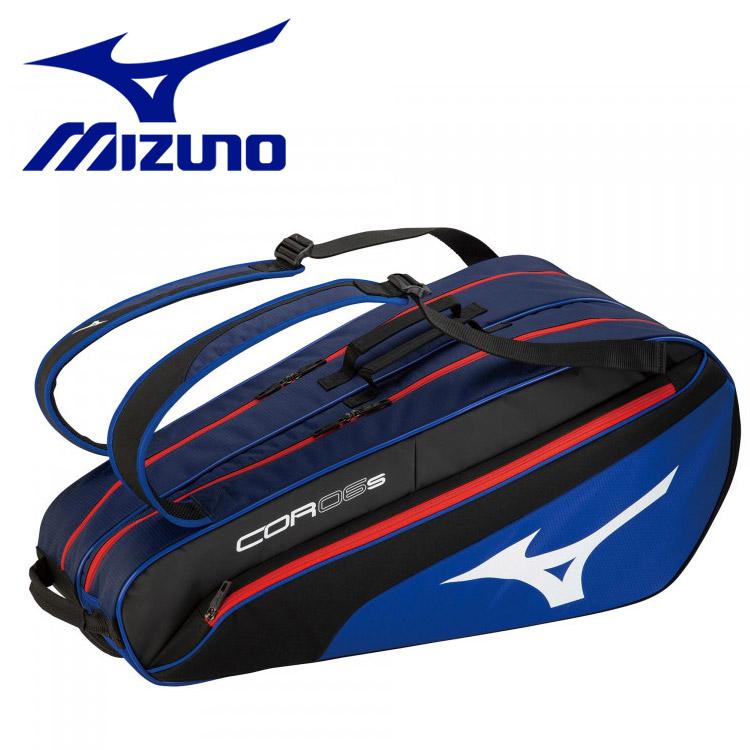 全品送料無料 一部地域 着後レビューで 送料無料 商品除く ミズノ テニス 現品 ソフトテニス ラケットバッグ COR06s 6本入れ 63JD050122