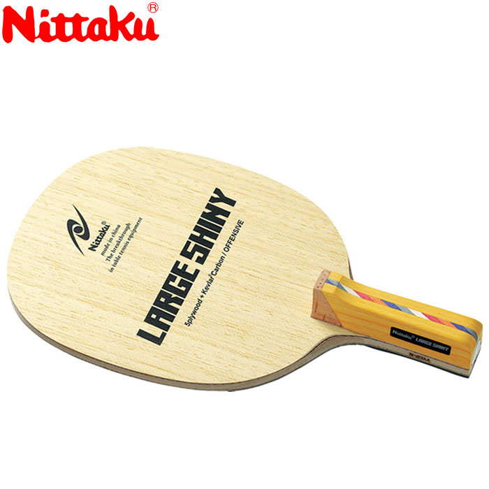 ニッタク ラージシャイニー R 卓球ラケット NC0189