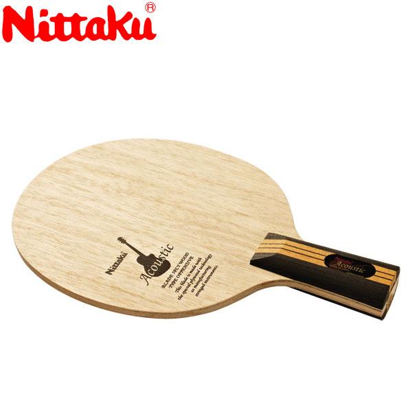 ニッタク アコースティック C 卓球ラケット NE6661