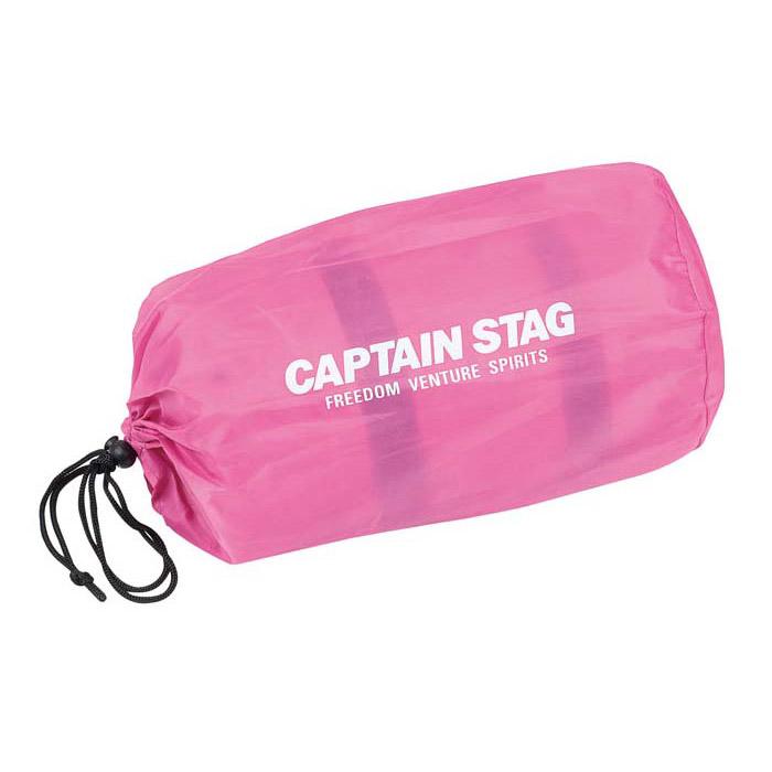 キャプテンスタッグ ピロー付インフレーティングマット(ピンク) 寝具 UB3029