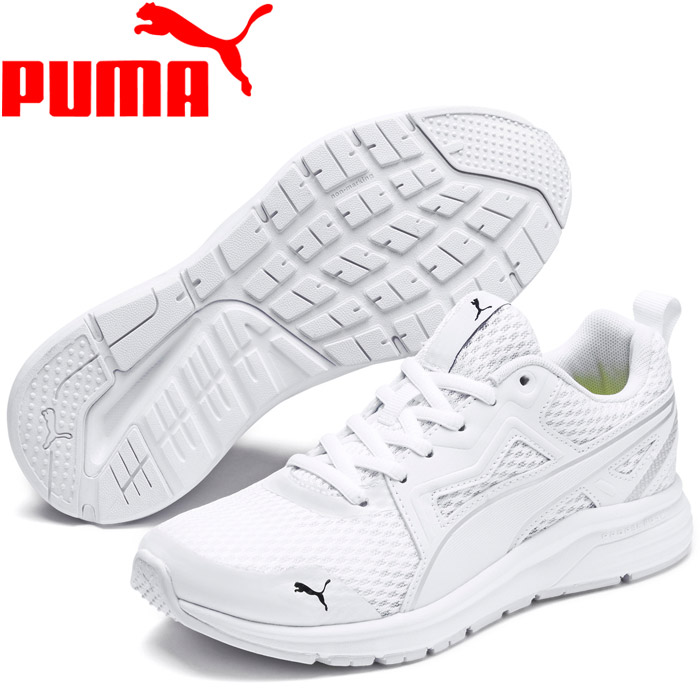 Puma PUMA TISHATSU RUNNER KNIT JR 191,571 01 runner knit black sneakers youth Lady's