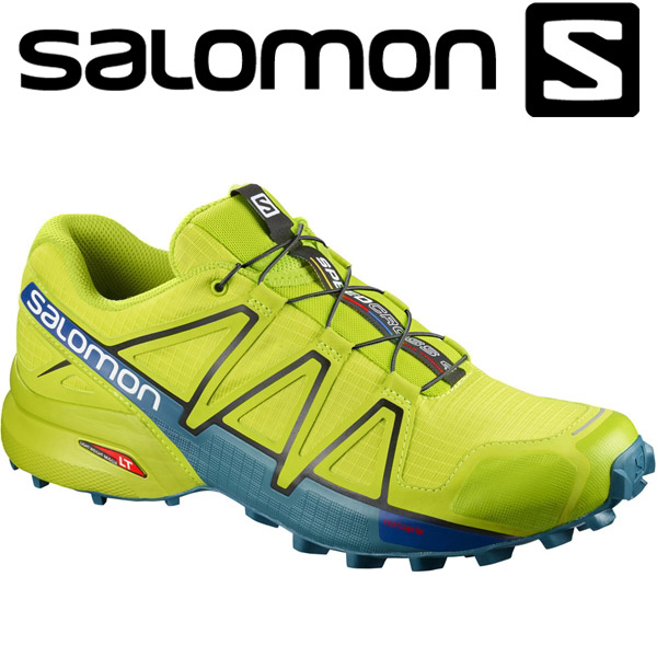 check out 76256 b91c7 Salomon SPEEDCROSS 4 trail running shoes men L400779