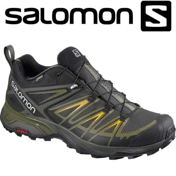サロモン X ULTRA 3 GTX ハイキング&マルチファンクション シューズ メンズ L40242200
