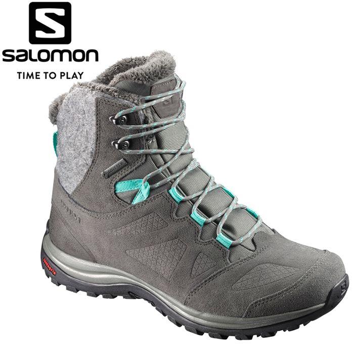サロモン ELLIPSE WINTER GORE-TEX W ウィンター スノー シューズ レディース L39855000