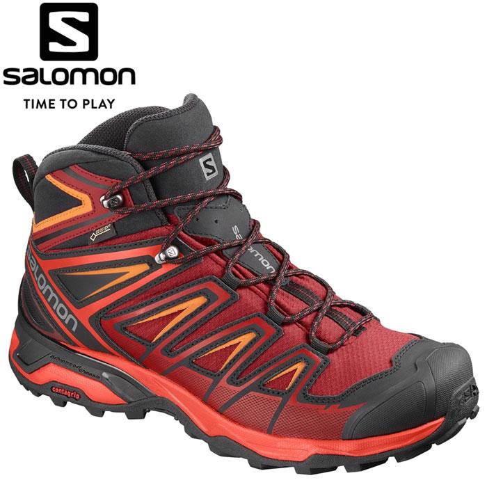 サロモン X ULTRA 3 MID GORE-TEX トレッキングシューズ メンズ L40468000