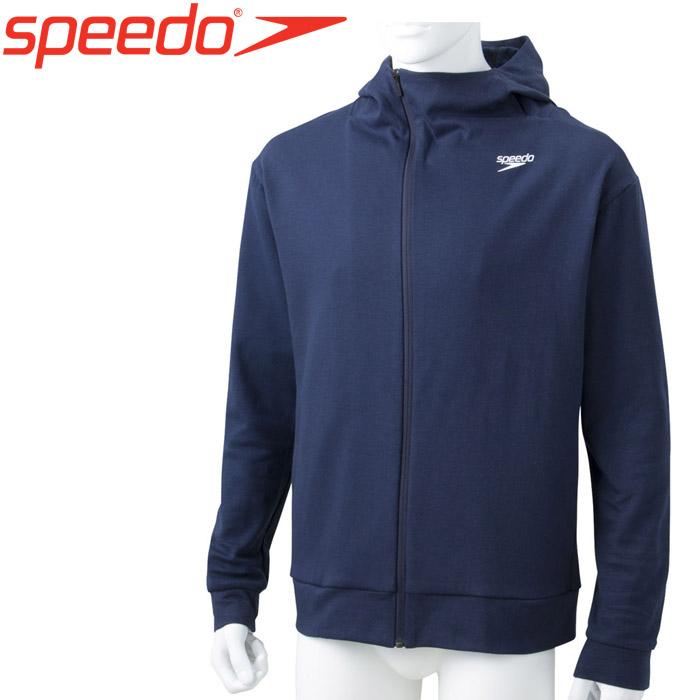 スピード 水泳 スタンダードスウェットジップフーディ SA21905-NB
