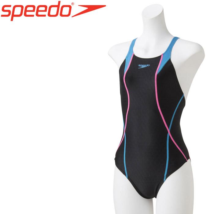 スピード 水泳 フレックスキューブ エイムカットスーツ 競泳 水着 ガールズ ジュニア SCG01907F-TP