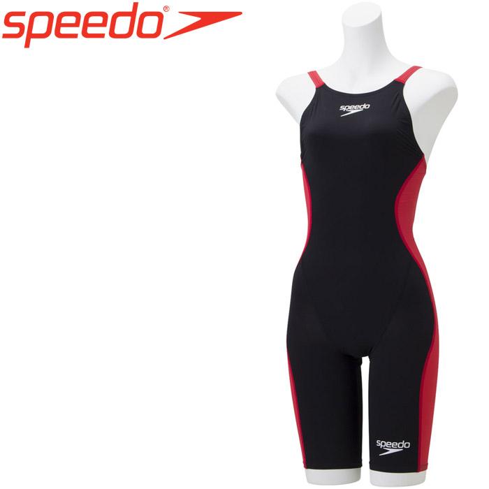 スピード 水泳 ドレークニースキン 競泳 水着 レディース SCW11905F-KR