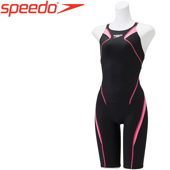 スピード 水泳 アトラスニースキン 競泳 水着 レディース SCW11906F-BP