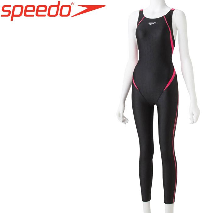 スピード 水泳 フレックスシグマ2ロングジョン 競泳 水着 レディース SCW31909-PR