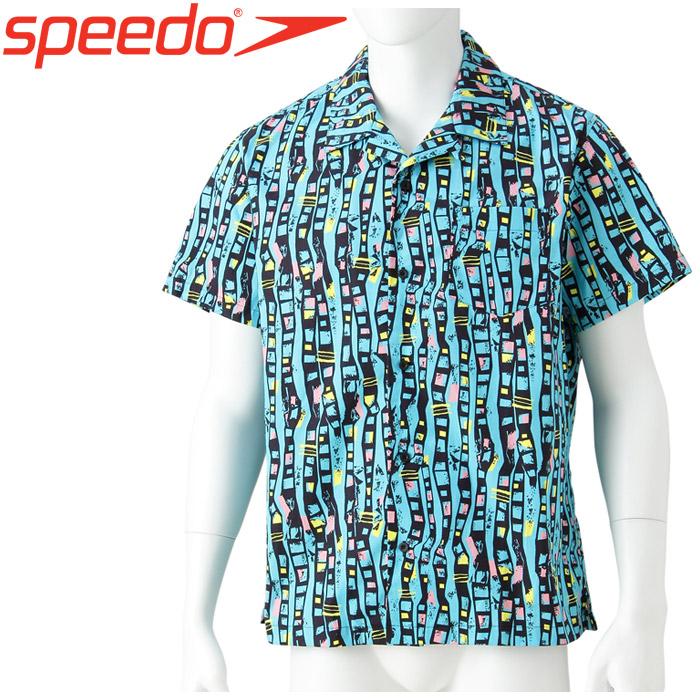 スピード ボンダイ プリントアロハシャツ メンズ レディース SD18S41-BL