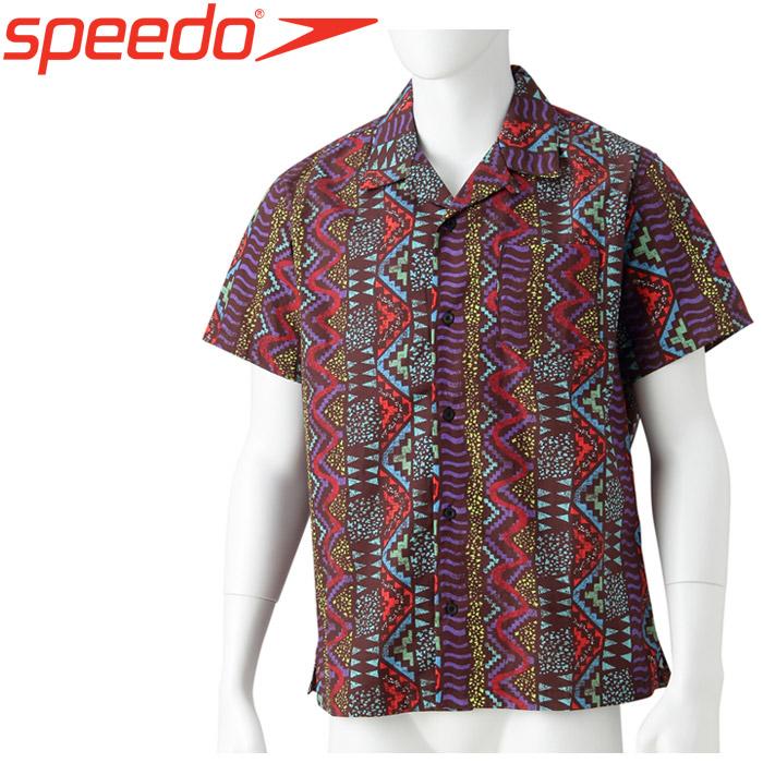 スピード ボンダイ プリントアロハシャツ メンズ レディース SD18S41-K