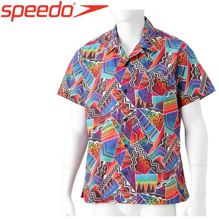 スピード ボンダイ プリントアロハシャツ メンズ レディース SD18S41-MT