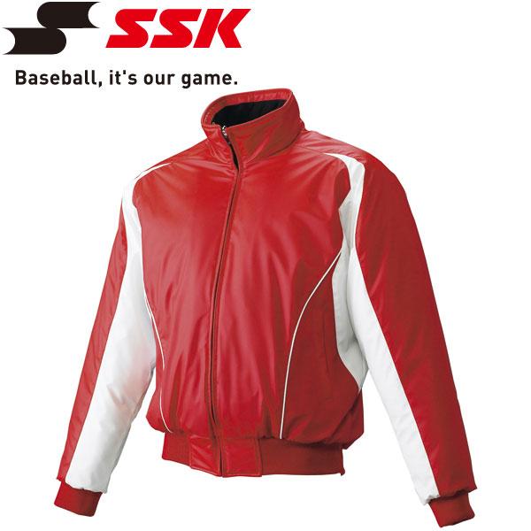 エスエスケイ SSK 野球 蓄熱グラウンドコート フロントフルZIP 中綿 メンズ・ユニセックス BWG1002-2010w