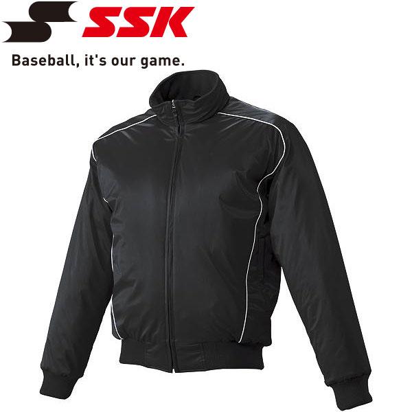エスエスケイ SSK 野球 蓄熱グラウンドコート フロントフルZIP 中綿 メンズ・ユニセックス BWG1003-9010