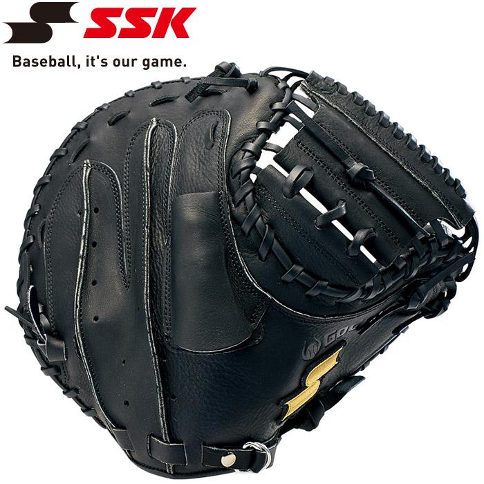 エスエスケイ SSK 野球 軟式ゴッドナイン捕手用 ミット GNM802-90