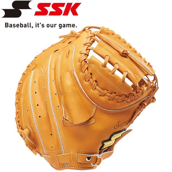 エスエスケイ SSK 野球 軟式スーパーソフト捕手用 ミット SSM821-44
