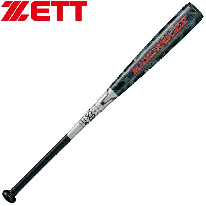 ゼット 一般軟式FRP製バット BLACKCANNON Z ブラックキャノン Z 軽量タイプ BCT35914-1900