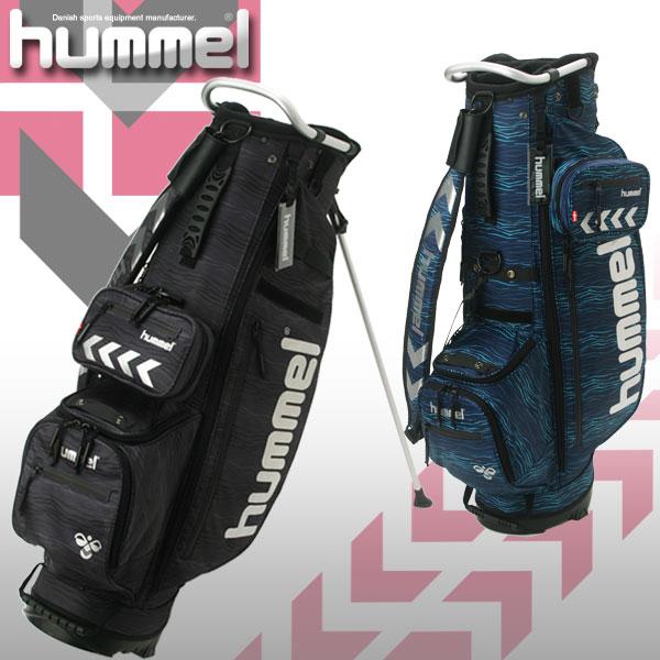 【数量限定品】 hummel ヒュンメル ライトウェイト マルチ スタンドバッグ キャディバッグ HFB7074