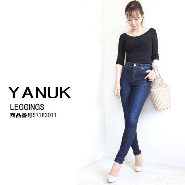 ヤヌーク,YANUK,LEGGINGS(Skinny),送料無料,57183011,スキニー,レギング,パンツ,ボトムス