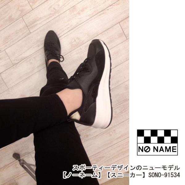 NO NAME【ノーネーム】 【スニーカー】 SONO-91534,WHITE,BLACK,新作,スポーティ SALE セール NO NAME【ノーネーム】 【スニーカー】 SONO-91534,WHITE,BLACK,新作,スポーティ