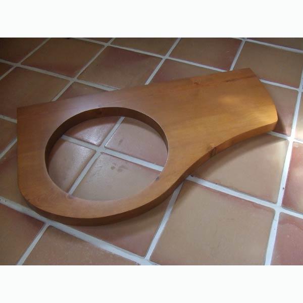Mラウンド用手洗いカウンター天板/パイン材(2色)