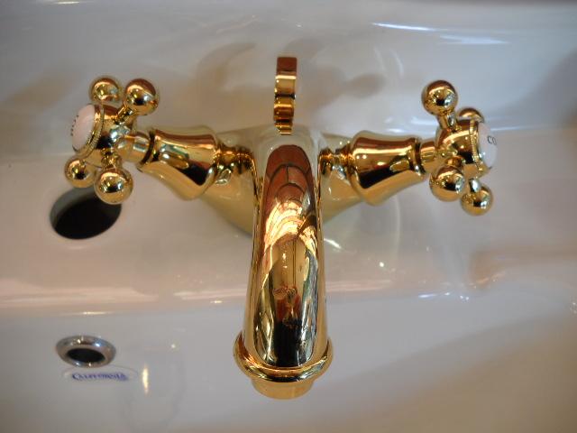 【CALIFORNIA】サラ2混合水栓(排水ドレン付き)