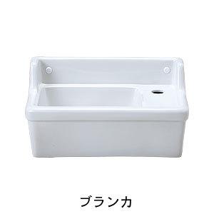 【Essence】壁付型手洗い器Sレクタングル/立水栓用(2色)