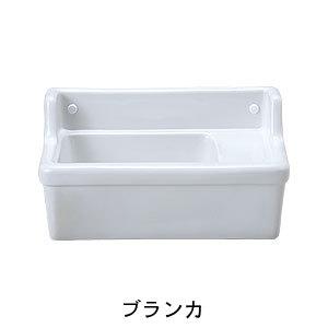 【Essence】壁付型手洗い器Sレクタングル/横水栓用(2色)