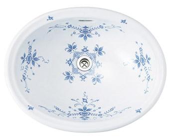 【Essence】オールドイングランド洗面器/Mオーバル