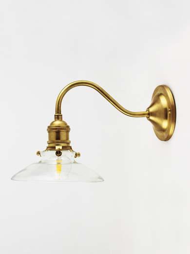 【Homestead】真鍮製エントランスライト(屋外用・防雨仕様)【タイプA、B対応】