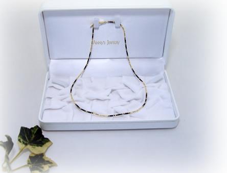 首・肩・癒し ヒーリングストーン&ゴールド 聖石と18金のネックレス45cm ケース付き無料ラッピング