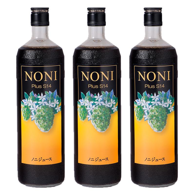 ノニジュース3本セット Annyのお気に入り ご家族の健康維持に。 毎日140種類以上の栄養素&発酵パワー!