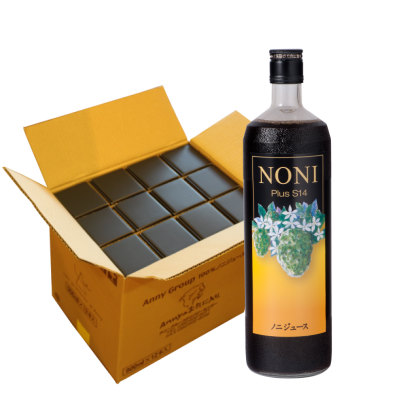 ノニジュース12本セット Annyのお気に入り ご家族の健康維持に。 毎日140種類以上の栄養素&発酵パワー!