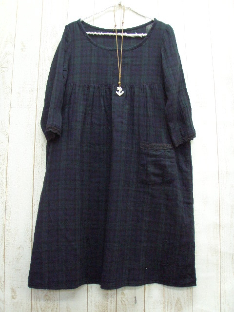Sale sale ♪ W gauze BW dress M-5 L, no. 9-No. 22