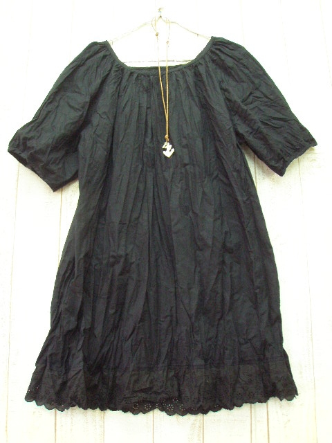 Book sale delivery for about 10 days of large, black cotton tunic 3 L, 4 L, 5 L, 6 L, no. 15-22