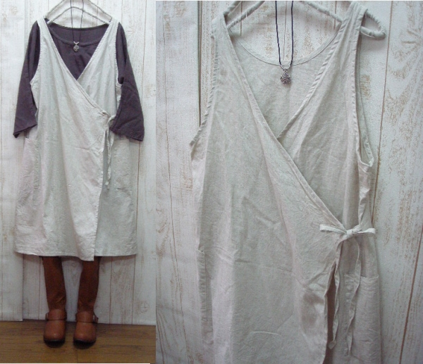 ♪ book sale 10 days delivery linen, surplice, and one piece M-5 L
