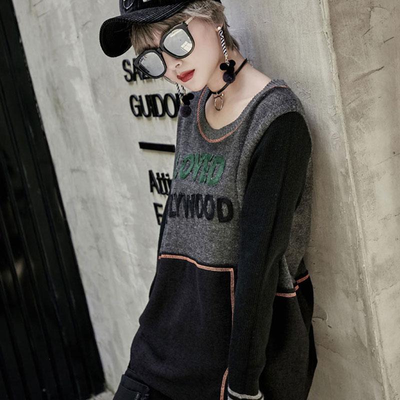 セーター ストリートダンス衣装 トップス ニットプルオーバー