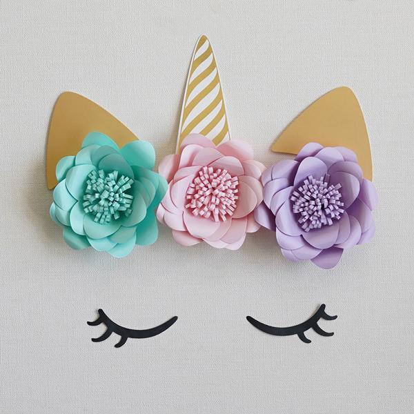 並行輸入品 お誕生日パーティーにユニコーンの壁掛け飾り付けセット ユニコーン ウォールデコレーションセット 女の子だけでなく男の子のお誕生日パーティーにも バースデー 大幅値下げランキング あす楽対応 壁飾り
