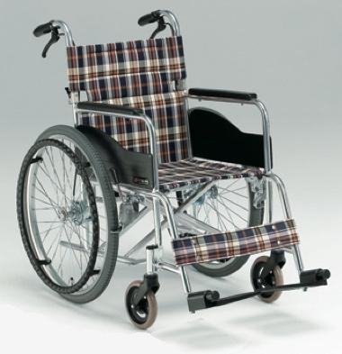 自走用車椅子AR-201B 背折れ式・介助ブレーキ付