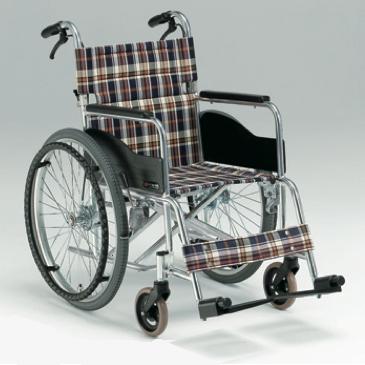 自走用車椅子AR-211B 低床タイプ 背折れ式・介助ブレーキ付