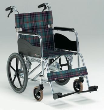 介助用車椅子 AR-301 背折れ式 介助ブレーキ付
