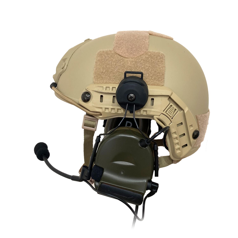 最新ヘッドセットver2020 Navy SEALs RANGERも愛用デザイン 特殊部隊 おすすめ セットアップ サバゲー 装備 ヘッドセット ヘルメット 3点セット ZTAC Comtac II ver2020 Z-TAC FG STANDARD 2 ARCレールアダプター BK ZTACTICAL 無線機 トランシーバー 贈答 タクティカルヘルメット OPS-CORE サバイバルゲーム コムタック DE